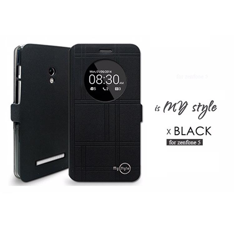 ☆ASUS ZenFone 6   A600CG MYstyle 窗型感應測掀皮套 ZenFone 6 保護套【清倉】