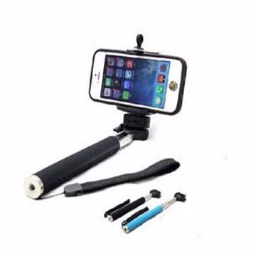 ☆七段伸縮手持自拍桿MONOPOD 手機/相機通用自拍桿 附加手機自拍藍牙遙控器【清倉】