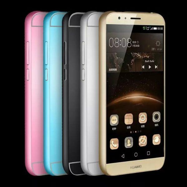 HUAWEI華為 G7 plus 手機套 金屬邊框+壓克力背板二合一 HUAWEI 麥芒4 D199 PC背蓋保護殼【預購】