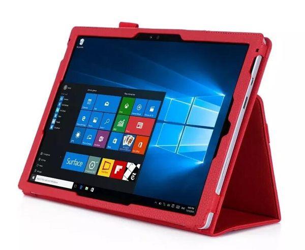 微軟Microsoft Surface Pro 4 Pro 3 保護套 文逸手托插卡平板皮套 Pro 3 保護皮套【預購】