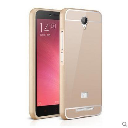 小米 紅米Note2 手機套 金屬邊框+壓克力背板二合一 紅米 NOTE 2 PC背蓋保護殼【預購】