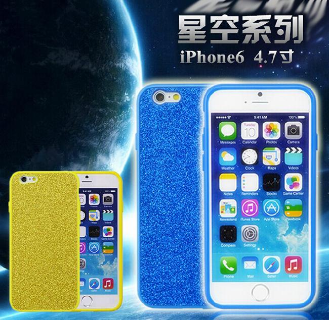 Apple iphone6 4.7吋保護套 NX CASE諾訊星空系列閃鑽手機殼 蘋果 iPhone 6 超薄保護殼【預購】