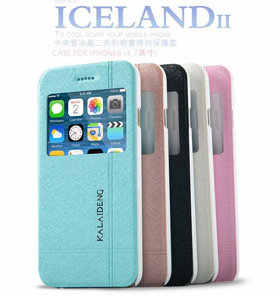 蘋果iPhone6 4.7吋 保護套 卡來登冰晶二系列視窗手機皮套 APPLE iPhone 6 時尚防水保護殼【預購】