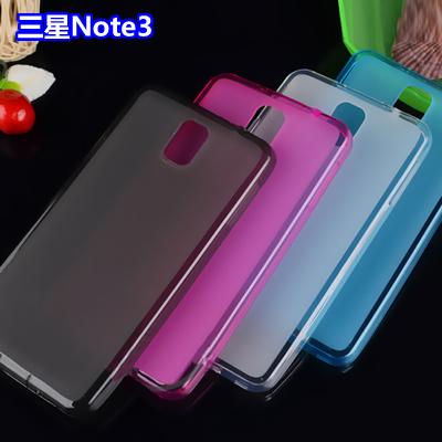☆三星Note 3 N9000 彩色布丁套 超薄後殼 N9008 N9009 軟背殼 清水套【清倉】