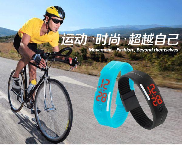 ☆A02 LED電子手錶 男女運動錶 時尚潮流學生手錶 防水錶 情侶對錶 兒童電子錶