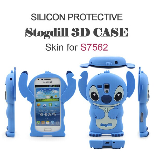 ☆三星S7562 Galaxy Trend Duos保護套 迪爾DER史迪仔系列矽膠套 保護殼 背殼 後殼【【清倉】