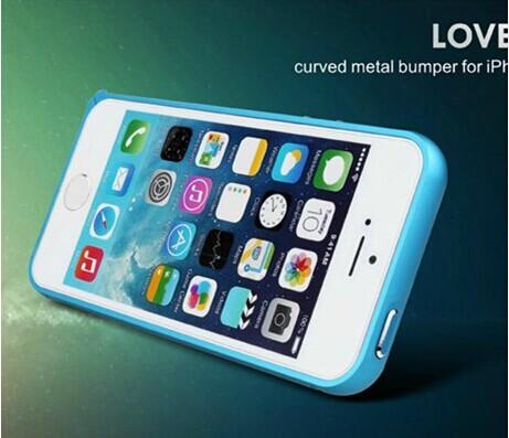 ☆蘋果iPhone 5 5S LOVE MEI 圓弧海馬扣邊框 免鎖螺絲 超薄 鋁合金 iPhone 5S 金屬手機殼【清倉】