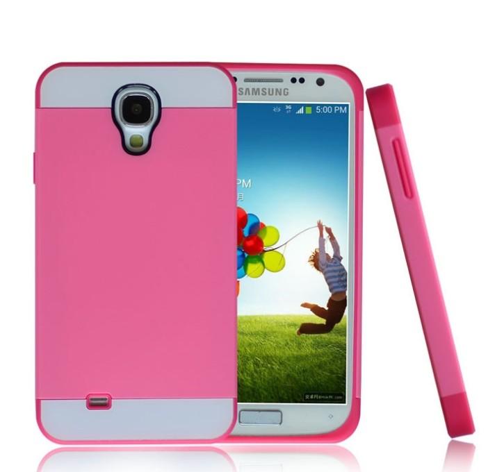 ☆三星i9500 Galaxy S4 保護套 諾訊NX CASE拼色三合一手機殼S4 手機套時尚雙色組合式保護殼【清倉】