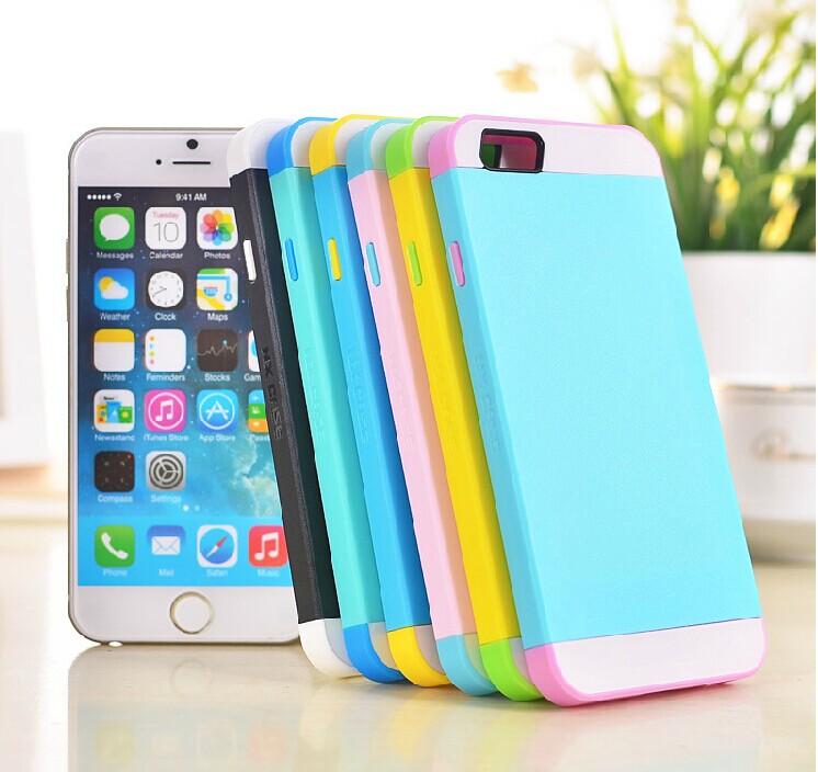 ☆蘋果iphone6 4.7吋 NX CASE諾訊拼色三合一手機殼 Apple iPhone 6 手機套 時尚雙色保護殼【清倉】