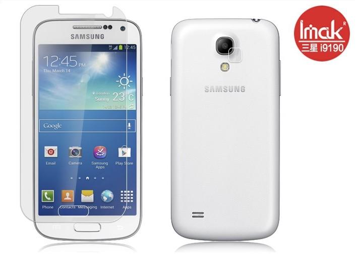 三星i9190 Galaxy  SIV S4 Mini 手機貼 高透明螢幕貼(附攝像頭貼)Samsung S4 Mini手機屏幕貼高清貼膜保護貼