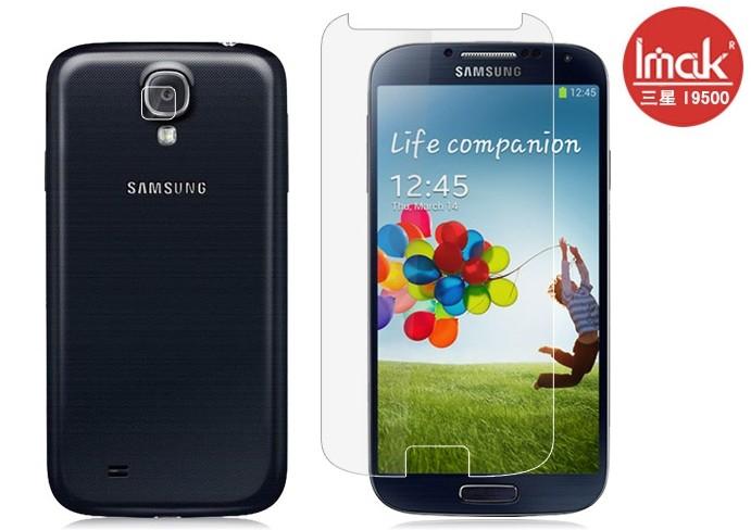 三星i9500 Galaxy S4手機貼 imak艾美克高透明螢幕貼(附攝像頭貼)Samsung i9502 i9508 i959手機屏幕保護貼保護膜