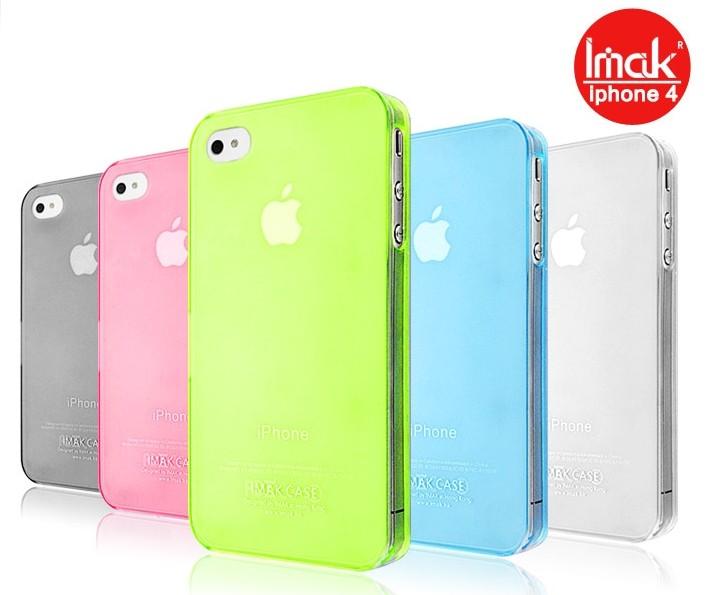 ☆蘋果iphone 4/4S手機殼 艾美克超薄0.7mm彩殼 imak Apple iphone 4/4S 保護殼 保護套 手機外殼