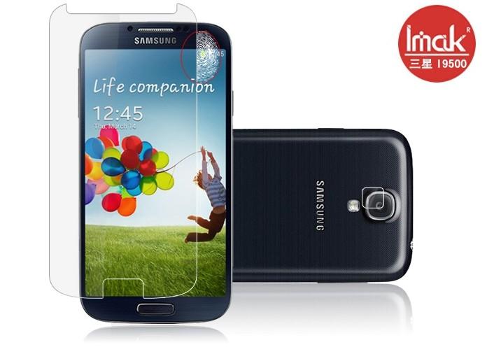 三星i9500 SIV i9502 螢幕貼 imak艾美克高清防指紋貼膜 Samsung i9508 i959磨砂保護貼(含高透攝像頭貼)