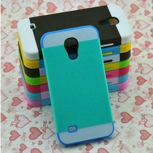 三星i9190 Galaxy S4 mini保護套 NX CASE諾訊拼色三合一手機殼i9190手機套 時尚雙色組合式保護殼 【預購】