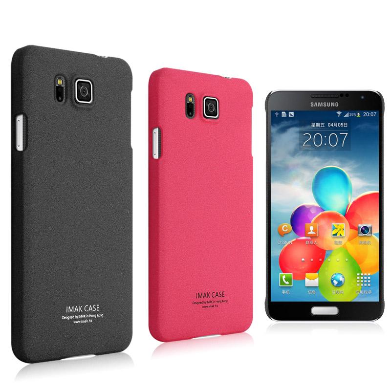三星Galaxy Alpha G8508S 艾美克IMAK超薄牛仔彩殼 Samsung G8509V G850 保護殼 超薄手機殼 (含螢幕保護貼)【預購】