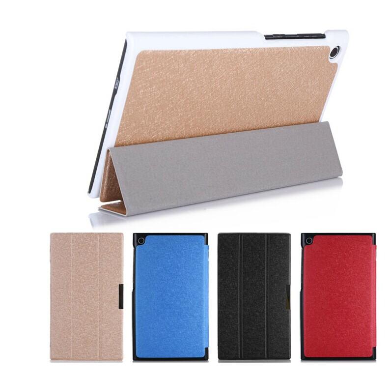華碩MeMO Pad 7 me572c 保護套 文逸超薄三折蠶絲紋平板皮套me572CL休眠 保護皮套【預購】