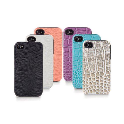 Simplism iPhone4 鱷魚皮紋質感保護套【葳豐數位商城】