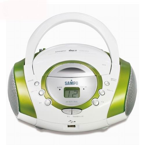 聲寶 CD/MP3/USB手提音響(AK-W715UL)