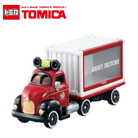 日貨 TOMICA 夢幻米奇貨櫃車 DM-14 多美小汽車 迪士尼 米奇 貨櫃車 日本進口【B061469】
