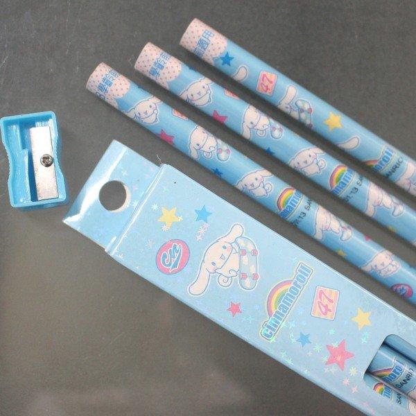 大耳狗學齡前鉛筆 學齡前兒童專用大三角鉛筆 2B/一小盒3支入{促60}~三麗鷗授權
