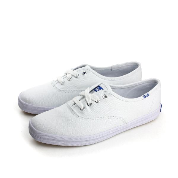 Keds 帆布鞋 白 女款 no002