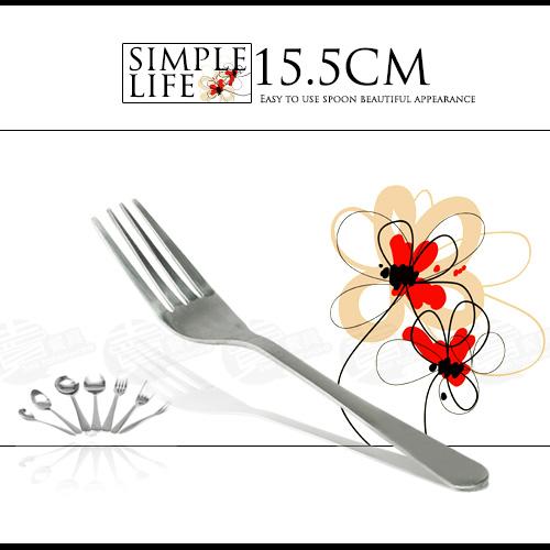 ﹝賣餐具﹞素面中餐叉 不鏽鋼餐具 不鏽鋼素面 刀 叉 湯匙 / 2301570500104