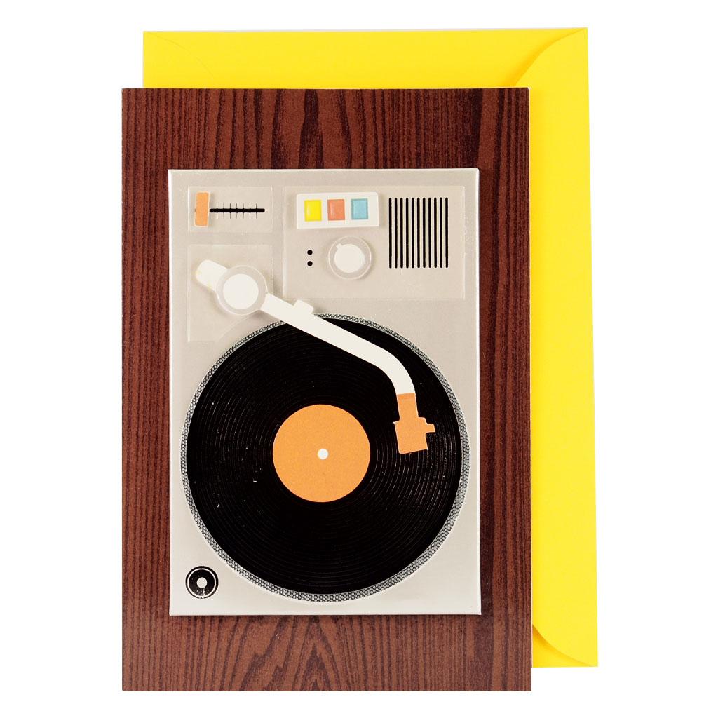 剪刀石頭紙【Signature經典手工系列】立體傳統唱盤機