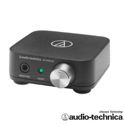 鐵三角 ATH AT-HA40USB USB耳機擴大機/USB音效卡 USB DAC