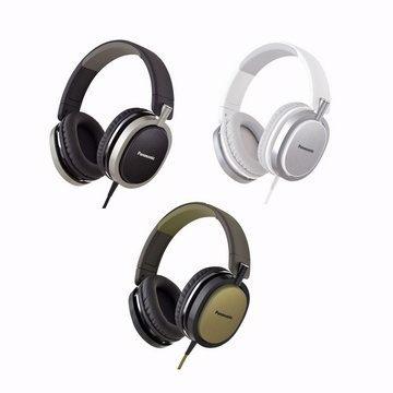 [nova成功3C] Panasonic RP-HX550 時尚金屬紋頭戴式耳機