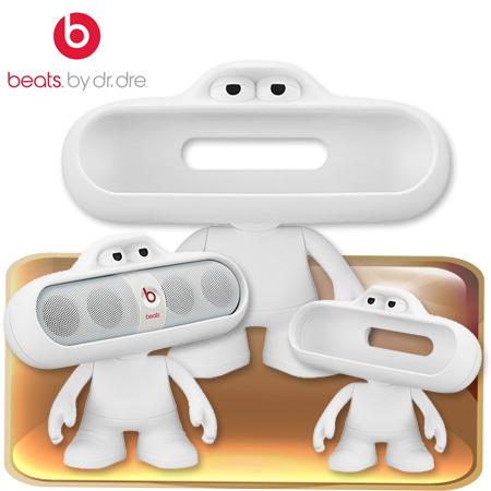 """Beats Pill Character造型保護套(白) 先創公司貨 保固一年""""正經800"""""""