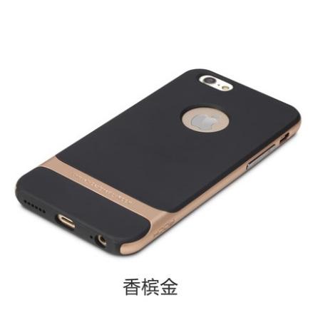 """[明洞美妝時尚館]限量~~韓國ROCK iPhone6 4.7""""超薄大黃蜂矽膠邊框保護套 即免費贈送同尺寸防爆鋼膜及2合1數據線1條"""