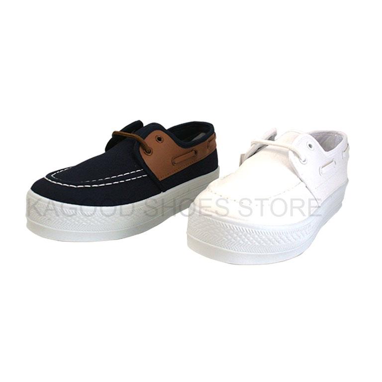 Arriba AB-7091 厚底 休閒鞋 懶人鞋 便鞋  帆布鞋 藍色款/白色款