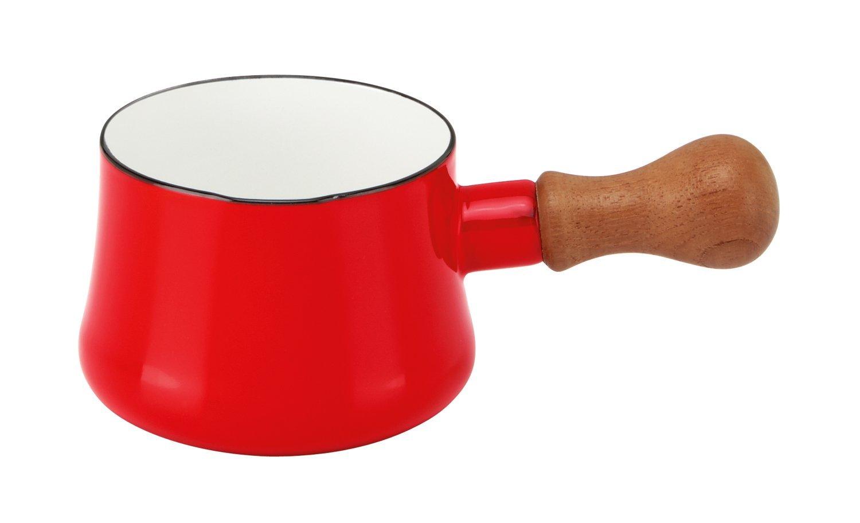 DANSK Butter Warmer 琺瑯木柄牛奶鍋 無蓋 560ml 紅色 *夏日微風*