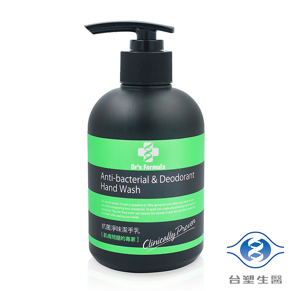 《台塑生醫》Dr's Formula 抗菌淨味潔手乳 洗手乳 (300g)