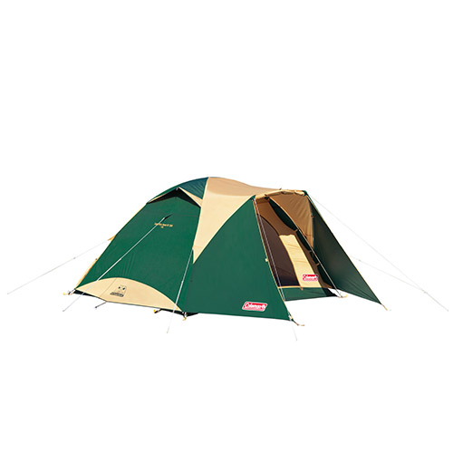 【露營趣】中和 附鋁墊地布營燈 Coleman CM-17860 4-6人透氣圓頂露營帳IV 鋁合金帳篷 家庭帳篷 露營帳篷