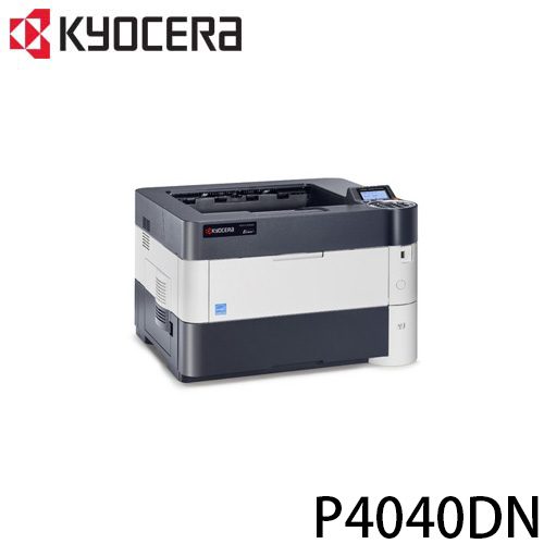京瓷 KYOCERA P4040dn A3 單色雷射印表機 內建網路卡/ 雙面列印器 PDF 直接列印功能