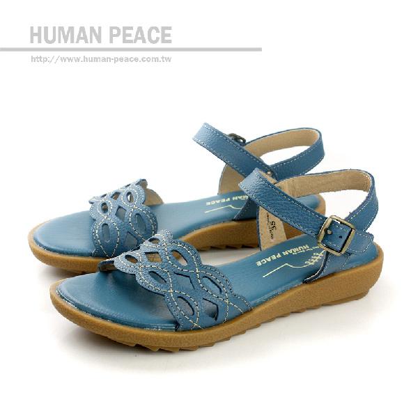 HUMAN PEACE 涼鞋 藍色灰 女鞋 no053