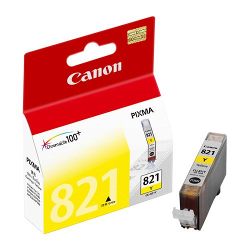 CANON CLI-821Y 原廠黃色墨水匣 CLI-821 Y 適用 IP3680/IP4680/IP4760