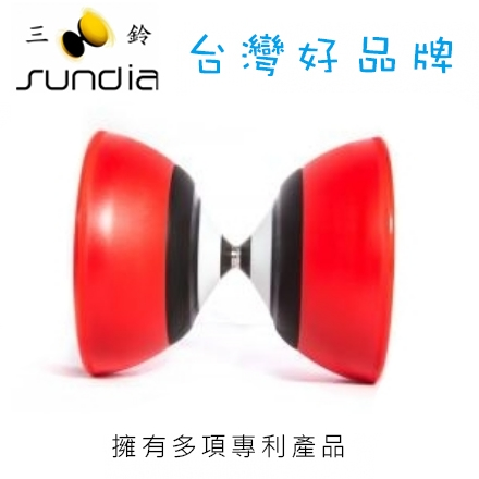 SUNDIA 三鈴 進化定軸鈴系列 Evo.LF.R 進化紅 / 個