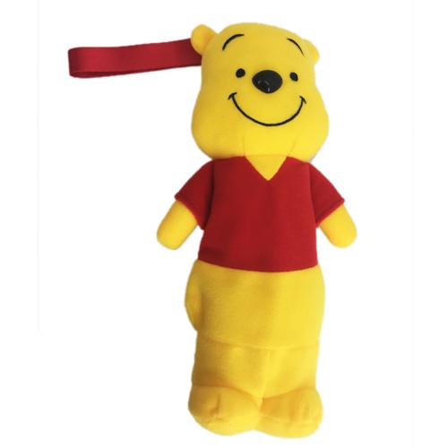 【真愛日本】15062700036 DN限定人形站姿筆袋-維尼 迪士尼 小熊維尼 POOH 維尼熊 文具 收納袋 正品 限量 預購
