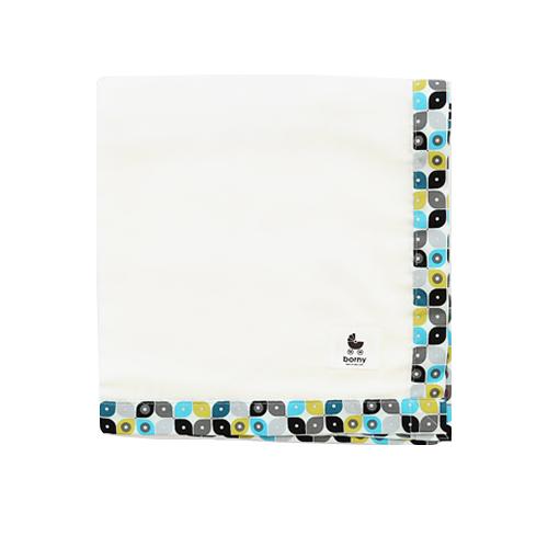 【安琪兒】韓國【 Borny 】有機棉多功能紗巾(滴答點)