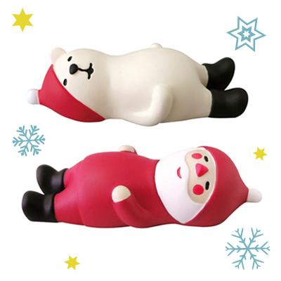 日本Decole聖誕擺飾 耶誕團聚歡樂派對-飯後休憩(聖誕老人)(北極熊) (聖誕節Concombre公仔) ◤apmLife生活雜貨◢