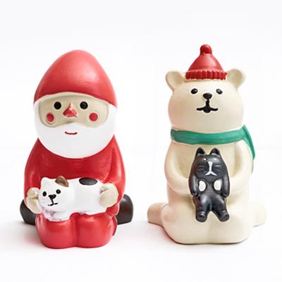(限時免運)聖誕老人與北極熊的聖誕派對 - 與貓咪們休憩 ◤apmLife生活雜貨◢