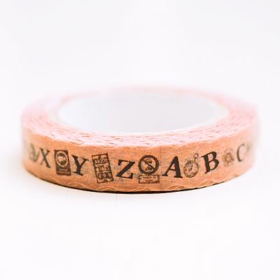 美式鄉村字母紙膠帶 ◤apmLife生活雜貨◢