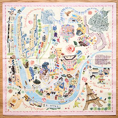 嬉遊巴黎樂園薔薇桌巾紙 ◤apmLife生活雜貨◢