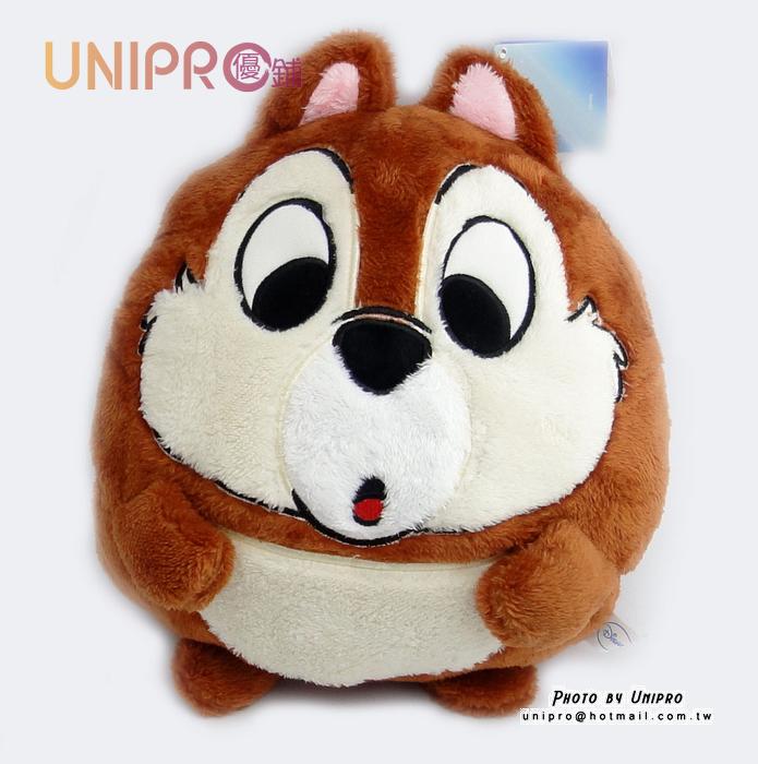 【UNIPRO】迪士尼 正版授權 救難小英雄 奇奇蒂蒂 Q版 造型玩偶 娃娃 暖手枕 午安枕 抱枕 靠枕