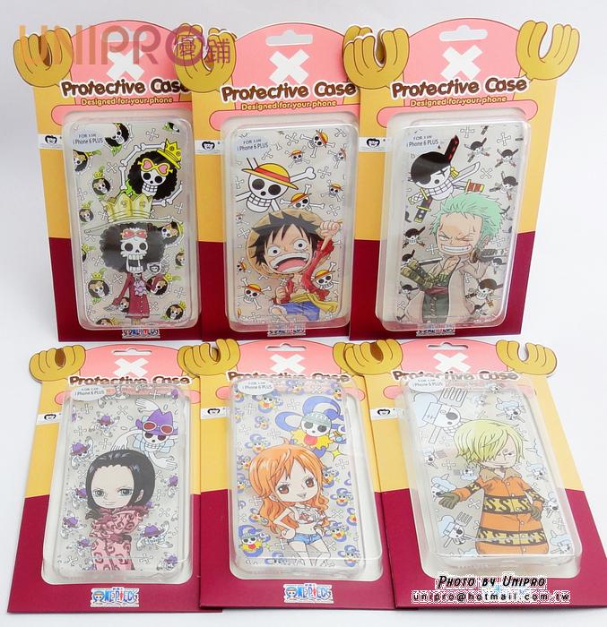 【UNIPRO】iPhone 6 PLUS 5.5吋 航海王 海賊王 One Piece 手機殼 透明軟殼TPU保護套