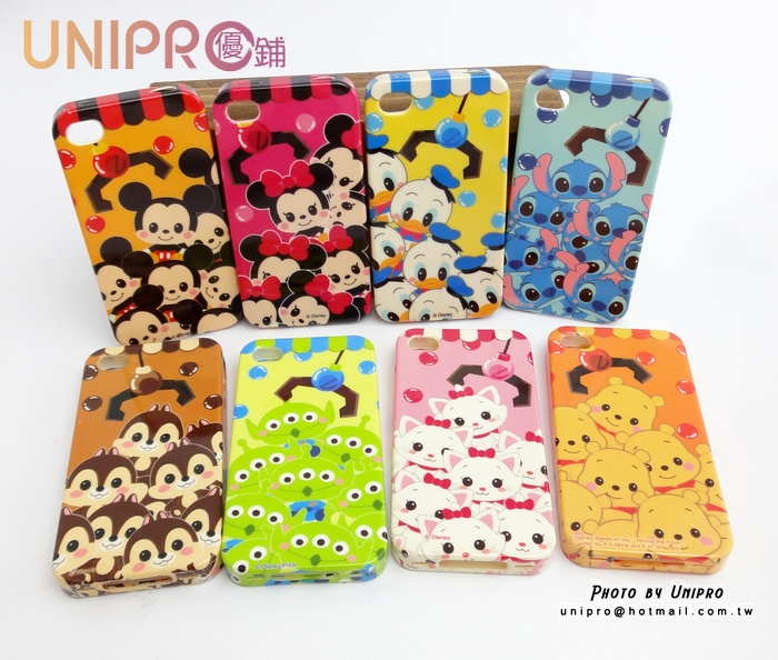 【UNIPRO】iPhone 4 4S 迪士尼卡通手機殼 TPU 軟殼 手機殼 保護套 米奇 米妮 維尼 史迪奇