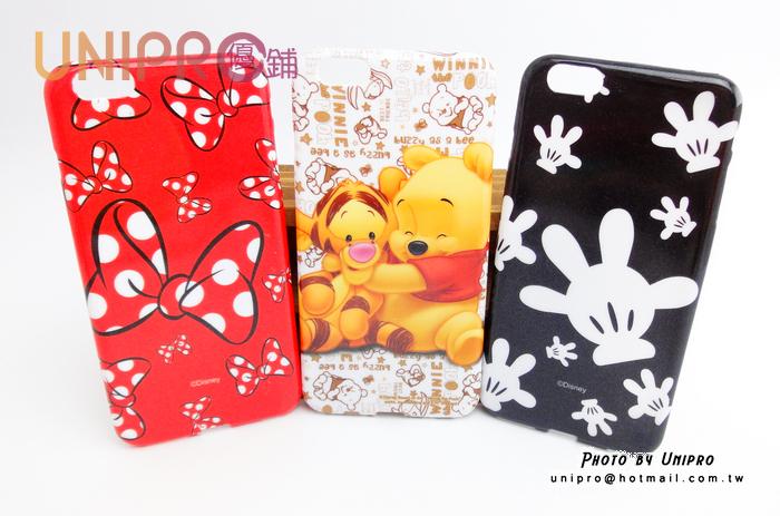 【UNIPRO】迪士尼 iPhone6 5.5吋 Plus 小熊維尼 米奇 米妮 TPU 手機殼 保護套