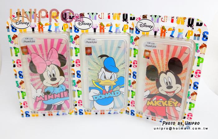 【UNIPRO】迪士尼 iPhone6 5.5吋 Plus  米奇 米妮 唐老鴨 TPU 手機殼 保護套